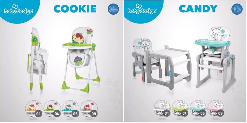 фото стульчиков для кормления baby design
