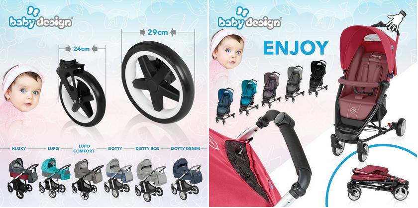 фото детских колясок baby design