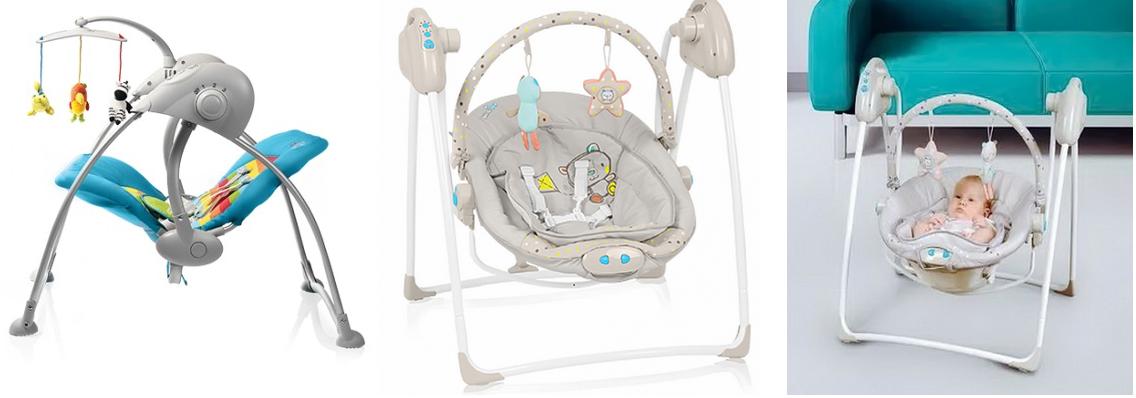 фото электронных качелей baby design