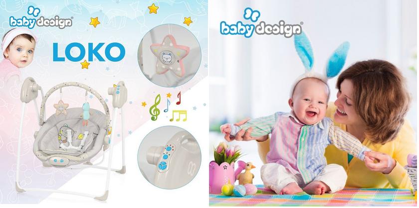 фото детских электрокачелей baby design